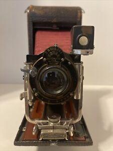 Kodak No 3-A Folding Pocket Camera Model B-4  circa 1908
