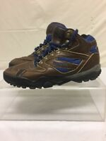Reebok Mens Hiking Camping Boots Sz 8 Brown Leather