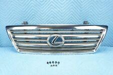 Lexus LX470 Grille w/ Emblem Brakets Safety & Release Lever Catch 2003-2005 OEM