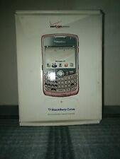 BlackBerry Curve 8330 - Pink (Verizon) Smartphone with box.