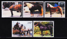 NIGER- HORSES 5 DIFFERENT USED STAMPS SET, CTO #1001