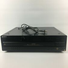 Sony Ca70Es Compact Disc Player 5 Disc Ex-Change System / Control A1