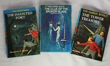 Vintage The Hardy Boys Hardcover Books 1, 21, 44 Lot of 3