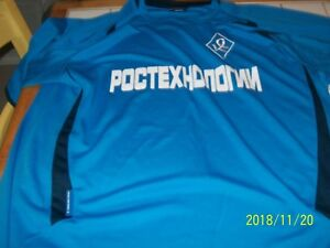 maillot football sovetov (russie) en très bon état taille XL
