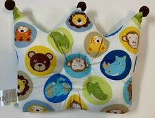 Baby Head Forming Pillow helps prevent Flat Head Syndrome Animal Print