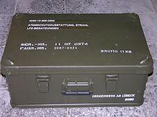 Zarges kiste Zargesbox   Bundeswehr BW Kiste Box robust neuwertig Lagerbestand
