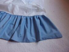 West Point Stevens Medium Blue Gathered Twin Bed Skirt