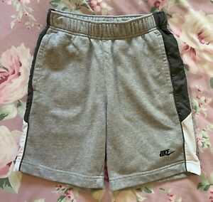 Boy's Nike Grey Jersey Shorts Age 10-12 (M)