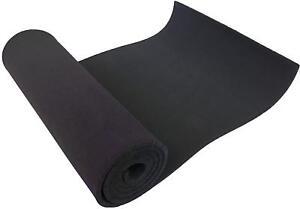 """XCEL Neoprene Rubber Roll Weatherproof Anti-Vibration DIY Projects 72""""x17""""x3/8"""""""