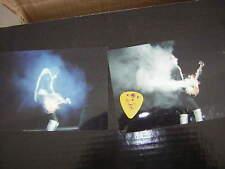 KISS ACE FREHLEY GUITAR PICK FARGO 7/14/00  W/UNPUB.PHOTOS FAREWELL TOUR