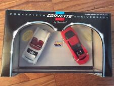 Hot Wheels 45Th Corvette Anniversary 2 Car Set
