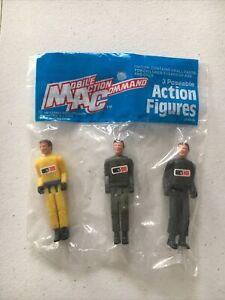 Matchbox Lesney MAC Mobile Action Command Action Figures New in package NOC