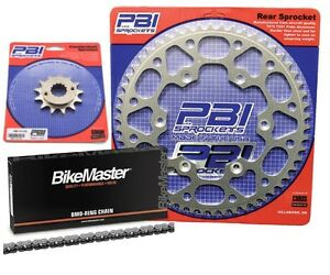 PBI OR 13-49 Chain/Sprocket Kit for Suzuki DR 250S 1990-1992