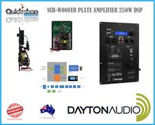 Dayton Audio SPA250DSP Plate Subwoofer Amplifier 250WRMS CLASS-D SUB AMP DSP