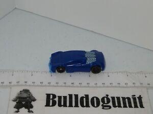 2011 Hot Wheels Plastic Car General Mills Cereal Prize Blue Mattel