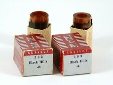 2 Tru-Vue 3D Film Strips BLACK HILLS of South Dakota 2 & 3 #302-303 Stereoviews
