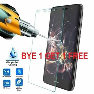 100% GENUINE TEMPERED GLASS SCREEN PROTECTOR COVER FOR HUAWEI P8 P9 P10, P20 PRO
