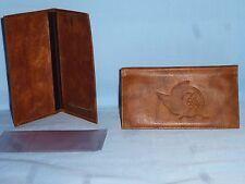 OTTAWA SENATORS  Leather Checkbook  NEW   brown