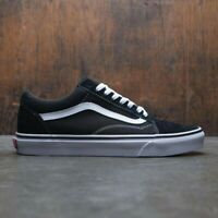 Vans Old Skool Black White Low Canvas Classic Skate Shoes - FREE SHIPPING