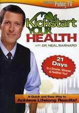 Kickstart Your Health DVD - Dr Neal Barnard, Diet, The 21 day diet, Weightloss