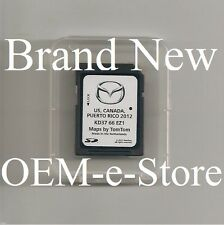 OEM Mazda Navigation SD CARD U.S Canada Map For Only 2013 2014 CX5 CX9 CX-5 CX-9