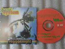 CD-BEAT SYSTEM-REGGAENIGHT-A.BAYYAN/L.JACKSON/JIMMY CLIFF-(CD SINGLE)1996-2TRACK