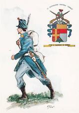 A8484) CASALE MONFERRATO, 11 BATTAGLIONE FANTERIA CASALE. UNIFORME DEL 1859.