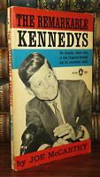 McCarthy, Joe THE REMARKABLE KENNEDYS  1st Edition Thus 1st Printing