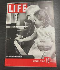 LIFE Magazine, November 27th1939