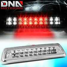 FOR 2010-2014 FORD F-150 2-ROW LED THIRD 3RD TAIL BRAKE LIGHT CARGO LAMP CHROME