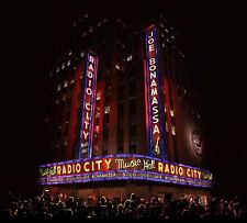 JOE BONAMASSA LIVE AT RADIO CITY MUSIC HALL 2LP VINYL ALBUM SET (October 2 2015)