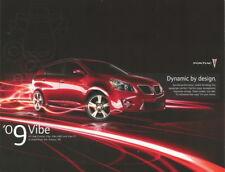 2009 Pontiac Vibe info card