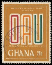 GHANA 732 (SG925) - Organization for African Unity Conference (pf84628)