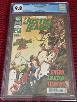 Justice League #46 CGC 9.8-NM-1st print-Robert Venditti-DC Comics-2020