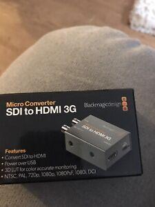 Blackmagic HDMI to SDI 3G Professional Micro Converter