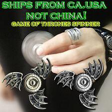 Fidget Toy GOT Hand Spinner Metal Finger Stress Tri Spinner Dragon Eye USA