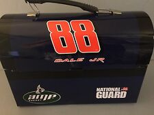 Dale Earnhardt Jr Amp Energy National Guard 88 Metal Lunch Box NASCAR Man Cave