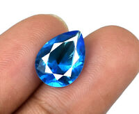 Natural Swiss Blue Topaz Gemstone 2.70 Carat. Pear Bumper Offer AGSL Certified