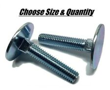 (All Sizes & Qty's) Elevator Bolts Zinc Plated 1/4-20 5/16-18 3/8-16 Leveling