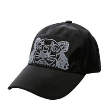 KENZO Tiger Cap Mens Womens Black Hat 5AC301 F20 99 Adjustable Outdoor Authentic