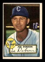 1952 Topps #254 Joe Dobson EX X1283299