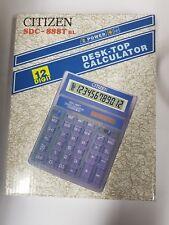 Citizen SDC888T Calculadora De Escritorio Grande 12 dígitos