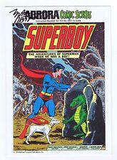 Superboy Aurora Comic Scenes  #186 Signed w/COA Marv Wolfman 1974 NOS NM PWC