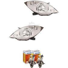 Scheinwerfer Set Chevrolet Daewoo Spark Bj. 10-12 H4 inkl. PHILIPS Lampen QMN