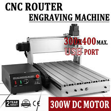 CNC Router 3 Axis 3040 3D Cutter Engraving Drilling Machine USB T-Screw Engraver