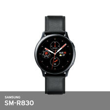 "Samsung Galaxy Watch SMR830 Active2 40mm stainless steel WiFi 1.2"" 4Gb 37g Black"