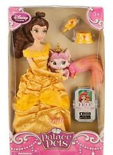 Disney Store Palace Pets Princess Belle Doll Rouge Beauty and the Beast