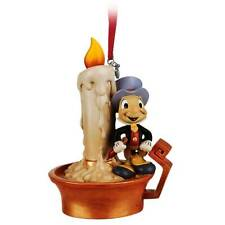 New Disney Store Pinochio Jimmy Cricket Light Up Sketchbook Ornament
