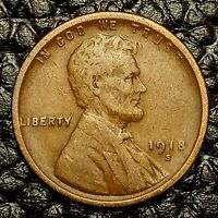 Condition ~ $20 ORDERS SHIP FREE! F // FN 1913 P Lincoln Wheat Cent in FINE