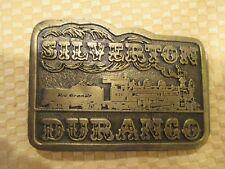 BELT BUCKLE--SILVERTON--DURANGO, COLORADO,  RAILROAD